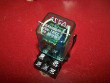 Asco 11 Blade Relay 24 Vdc Coil 166e37066 With Base Catalog No 115277