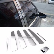 Stainless Steel Chrome Window Pillar Molding 6P For HYUNDAI 1996-2001 Elantra