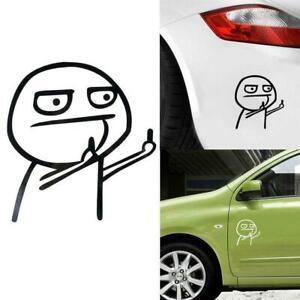 Cartoon-JDM-Car-Sticker-decal-outdoor-sticker-middle-finger-T6Z2