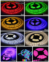 12v 5m 3528 Rgb Smd 300 Led Strip Lighting 12v Diy Party Clubs Deco 8 Colors
