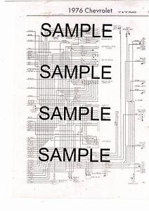 "1976 CHEVROLET TRUCK 1/2 3/4 1 TON 2&4WD ""C"" ""K"" MODELS 76 ..."