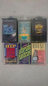 Bundle-of-Rap-Hip-Hop-House-and-Hardcore-Cassette-Tapes-4-Albums-2-Doubles