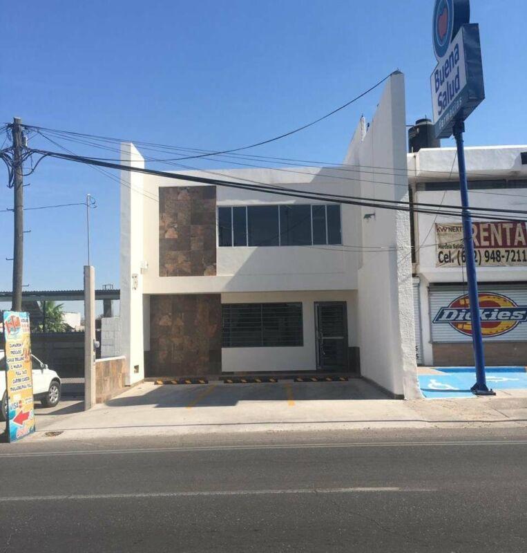 Renta oficina centrica y moderna dos plantas en Hermosillo