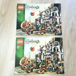 LEGO-INSTRUCTIONS-BOOKLET-ONLY-Castle-Dwarve-039-s-Mine-7036