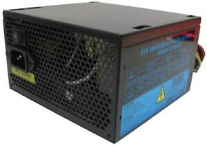 PSU 500W ATX Switching Power Supply / 12cm Silent Black Fan / For PC ...