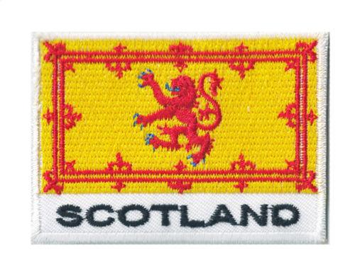Patche écusson drapeau patch Ecosse Scotland thermocollant 70 x 45 mm