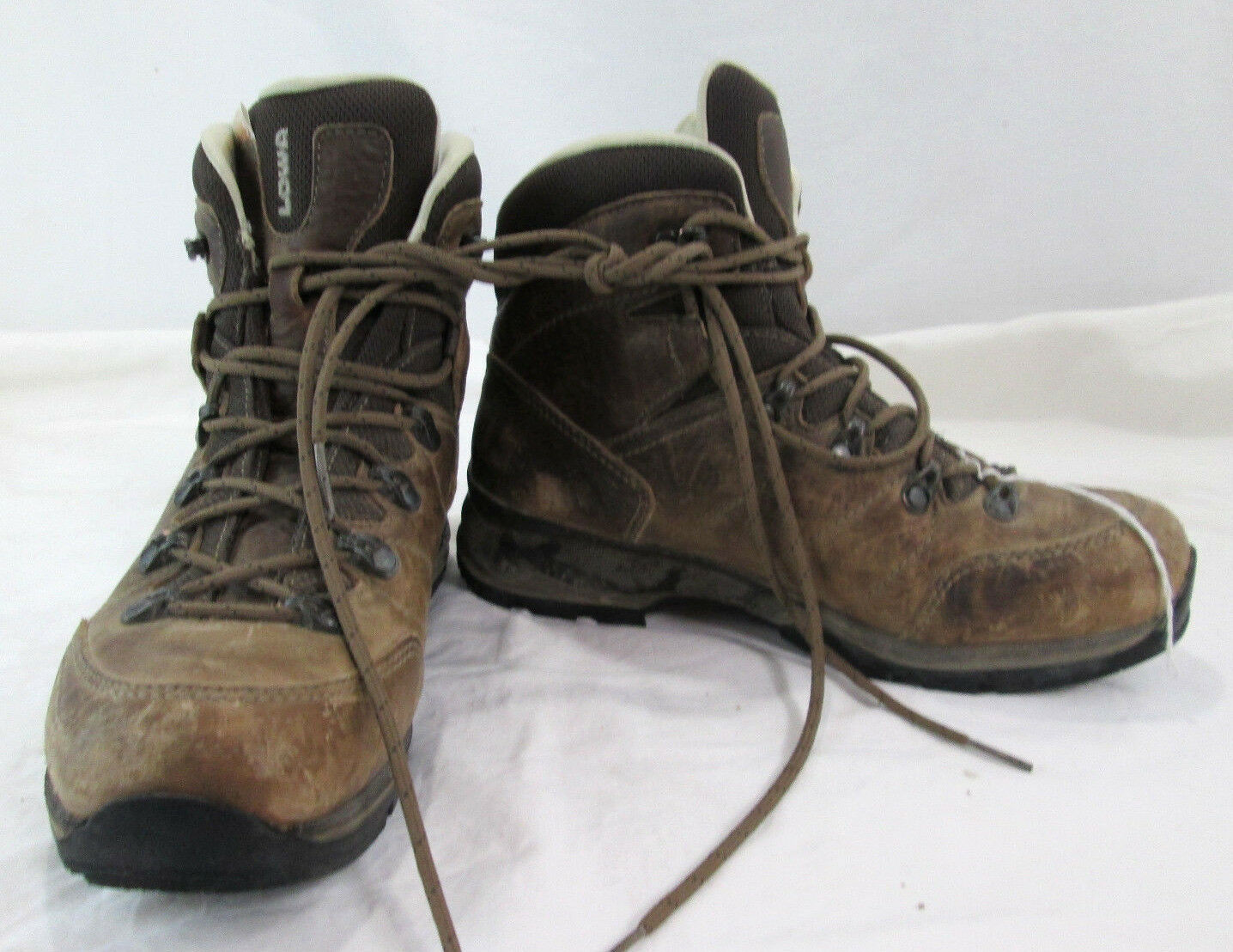 consegna rapida Lowa Hudson donna 6.5 Mid high high high Hiking avvio Marrone Leather shoe  bellissimo