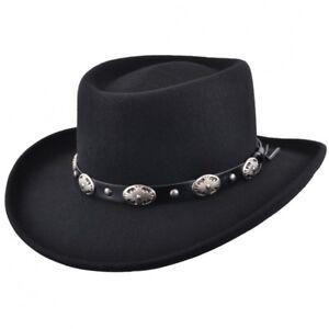 ... Scommettitore-cappello-con-fibbia-Fascia-Ripiegabile-Feltro-Cappello- f9cc18042310