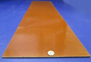"Thick x 12/"" x 12/"" 3//16/"" Garolite Micarta Canvas Phenolic CE Sheet .188/"""
