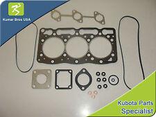 New Kubota Excavator Upper Gasket Kit U25S KX41-2 KX61-2 KX41H