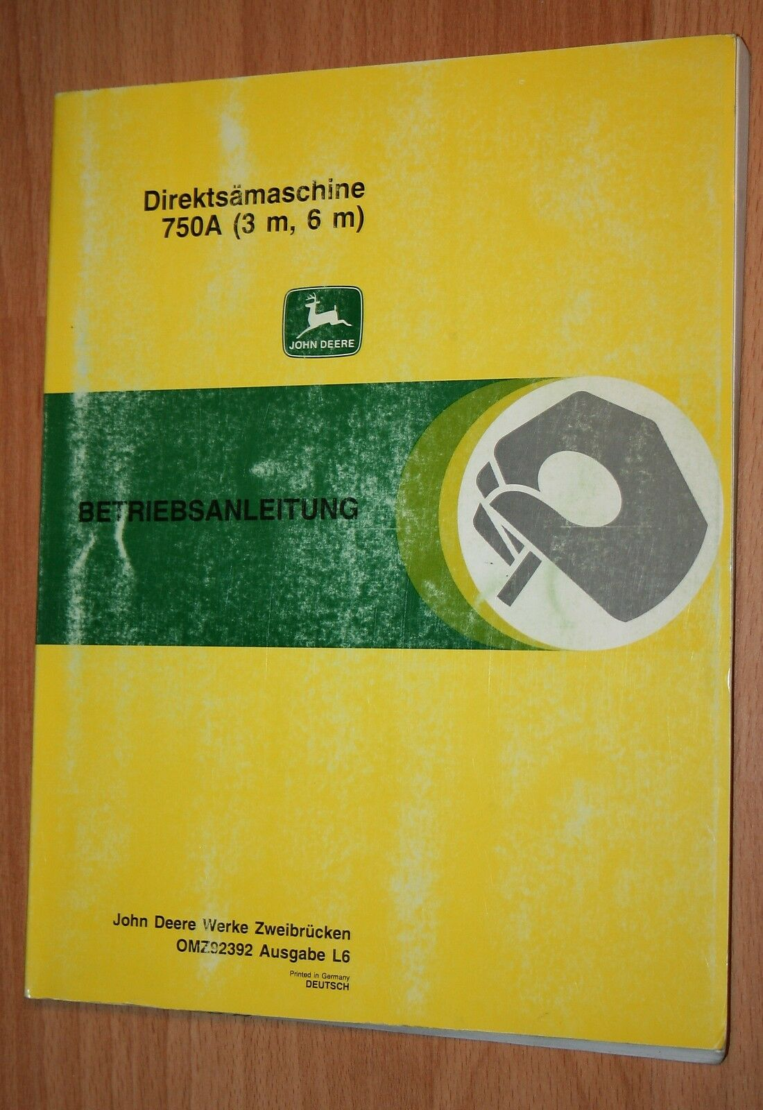 John Deere 80 Kleinschlepper Betriebsanleitung für Einachs-Kippanhänger