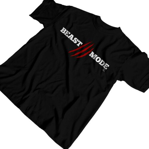 1Tee Mens Beast Mode Claws Fitness T-Shirt