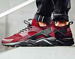 Nike Air Huarache Red and Black RARE!