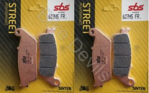 Honda-CB600-Hornet-1998-2012-Sintered-SBS-front-brake-pads-627HS-sbs627