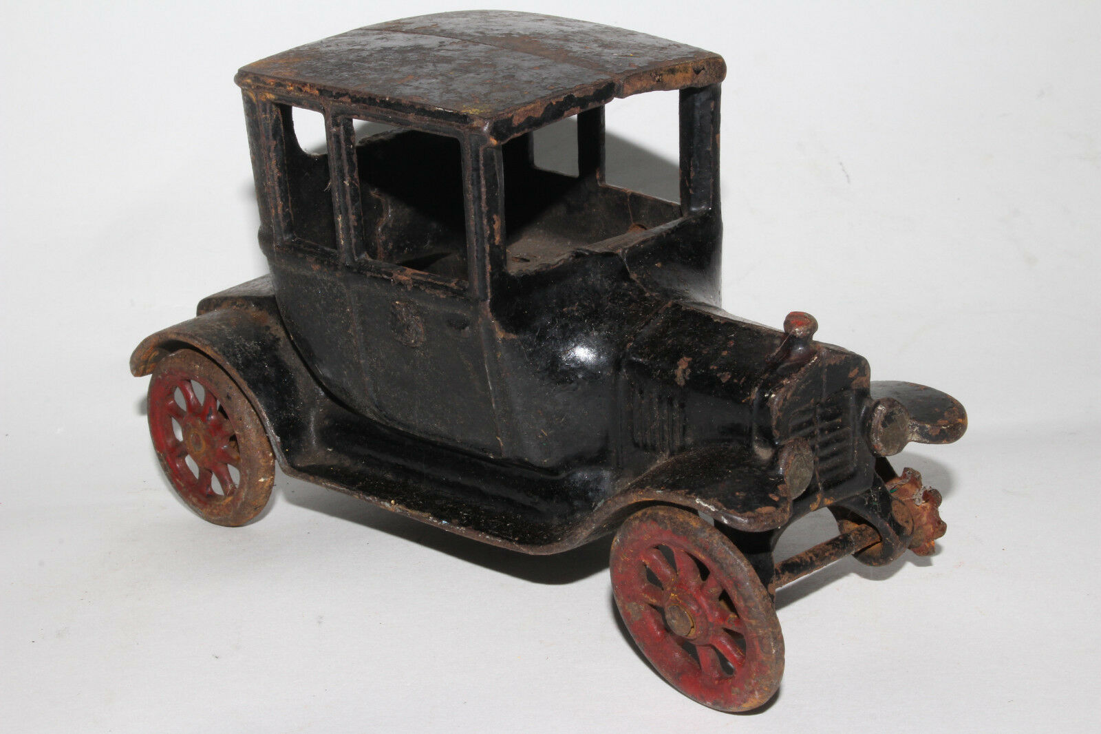 Arcade, Hierro Fundido 1923 Ford Modelo T Turtle Parte Trasera Coupé, más Grande