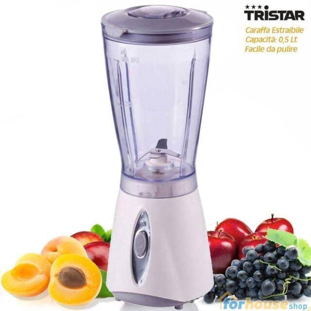 Frullatore blender con bicchiere estraibile piedini antiscivolo 180 watt Tristar