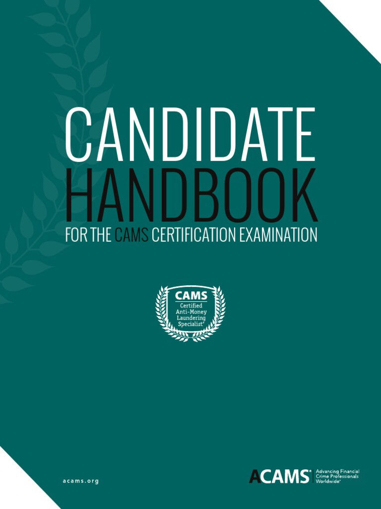 ACAMS study guide CAMS Certification Examination Package