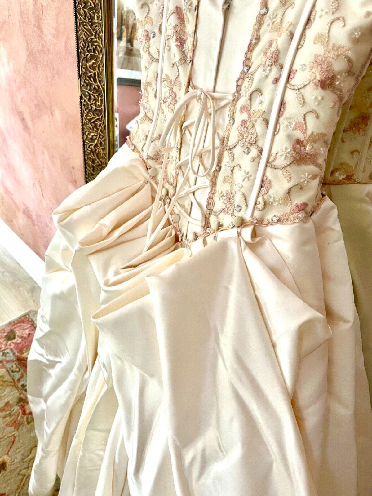 French bustle, corset, vintage, Victorian, Swarov… - image 9