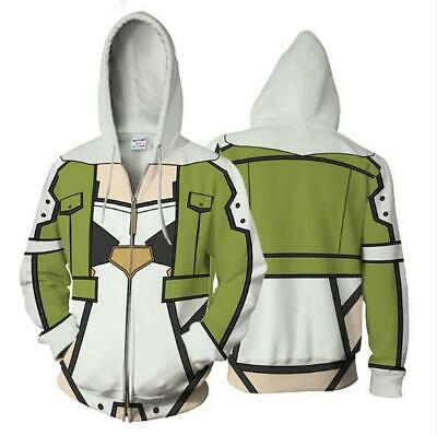 Intelligent Sword Art Online Shinon Cosplay Anime Kapuzen Sweatshirt Hoodie Pullover Pulli