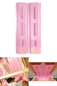70 Pcs Attic Insulation Rafter Baffle Proper Vents 22 1 2