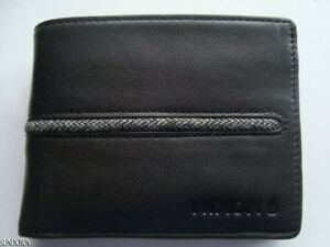 Image is loading NWT-MENS-NIXON-COASTAL-ARC-BLACK-LEATHER-BIFOLD- 2f5f72563e6