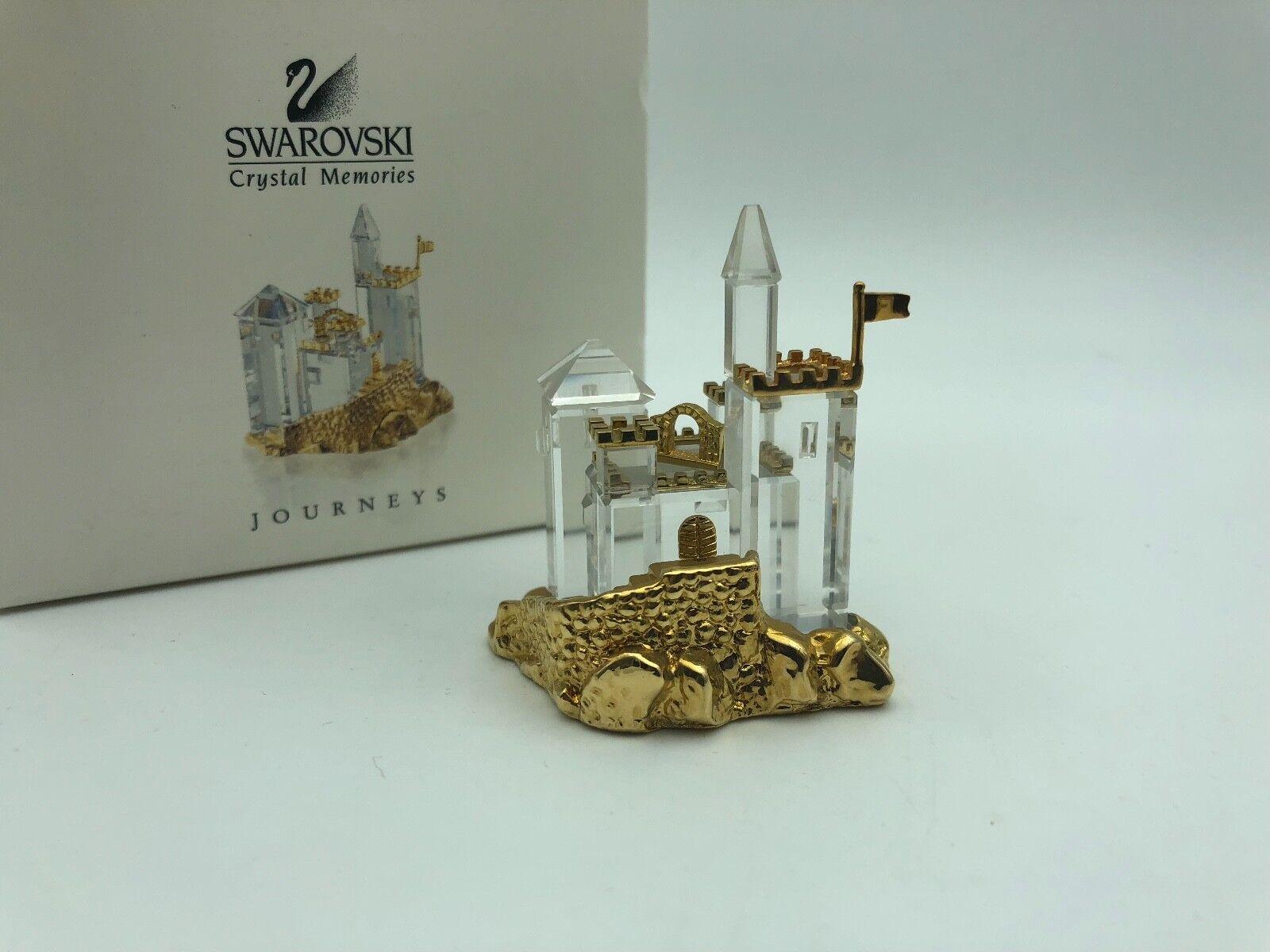 Swarovski Figur 243449 Memories Burg 6 cm mit Ovp & Zertifikat.