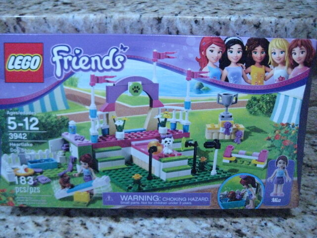 LEGO Friends HEARTLAKE DOG SHOW 3942 BRAND Nuovo Sealed Retirosso