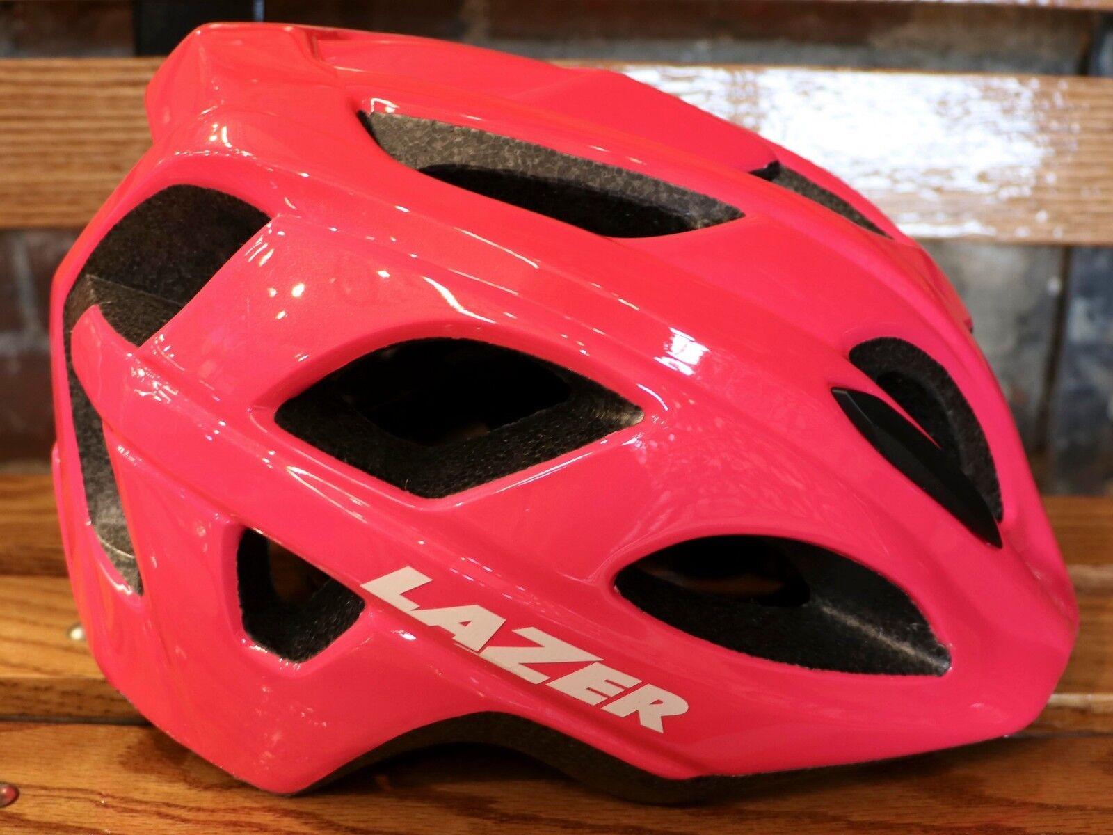 NEW Lazer Nutz Kid's Bike Helmet – color   Neon Pink   Size  Kid (50-56 cm.)  guaranteed