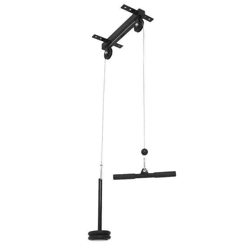 Gorilla Sports Dominadas para Montaje en Techo 30 31mm Cable con Manillar