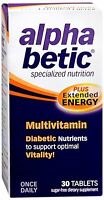 Alpha Betic Multi-vitamin Caplets 30 Caplets (pack Of 4) on sale