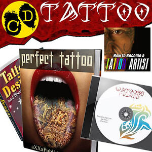HOW-TO-TATTOO-Printable-Designs-Tribal-Flash-Gallery-CD-5000-Flash-19-PDFs