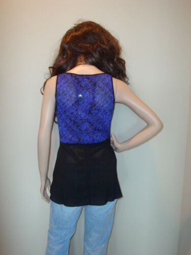 Narciso Rodriguez Sleeveless Georgette Blouse ~ New With Tags MSRP $48.00