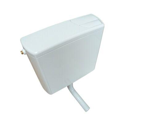 Geberit WC Aufputz-Spülkasten AP140 tiefhängend mit 2-Mengen-Spülung weiß