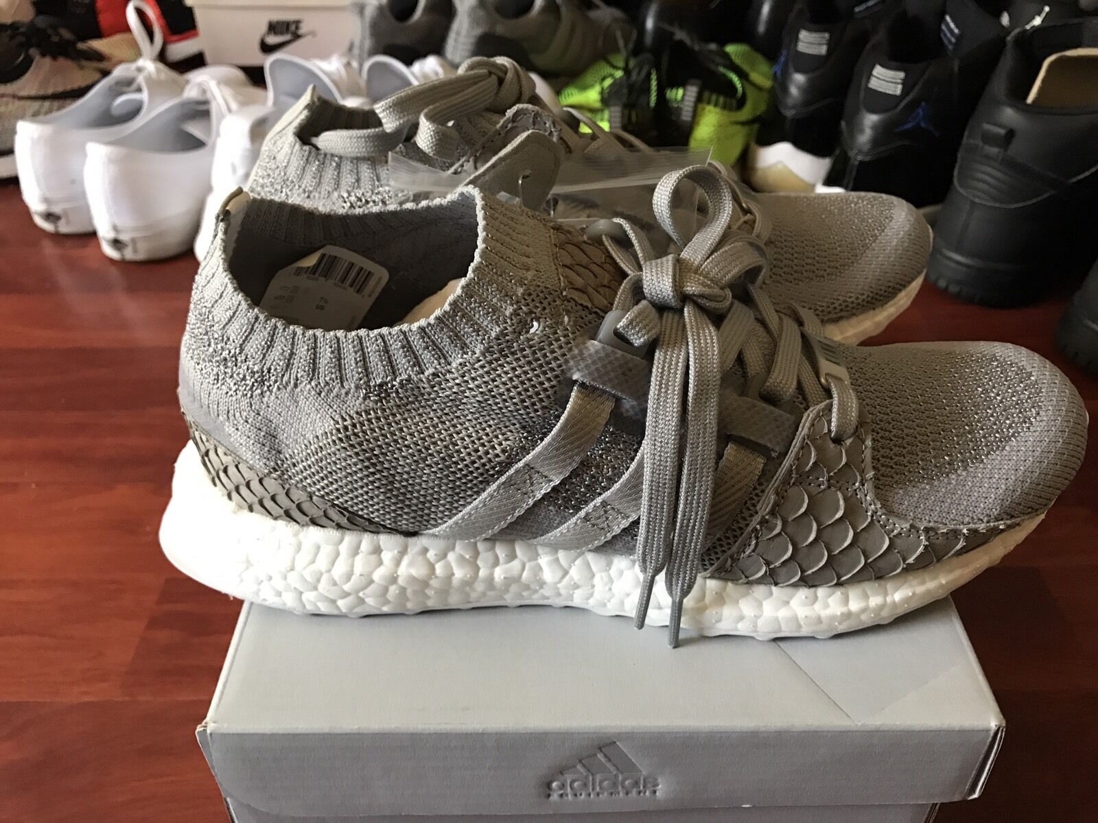 DS New Adidas x Pusha Pusha Pusha T King Push EQT Support Ultra PK Boost S76777 Size 7.5 Ltd 6aa603