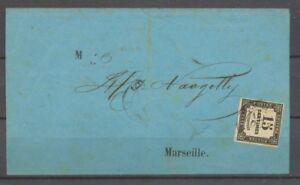1865-Avis-avec-Taxe-15c-noir-Paquebot-JUNON-Ligne-Du-levant-coton-X1368
