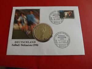 Details Zu Medaillen Numisbrief 1990 Deutschland Fussball Weltmeister 1990 Alb14
