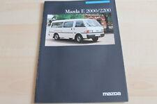 130053) Mazda E 2000 2200 Prospekt 01/1986