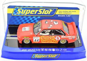 Scalextric-034-Demon-Tweeks-034-BMW-E30-M3-PCR-DPR-W-Lights-1-32-Scale-Slot-Car-C3739