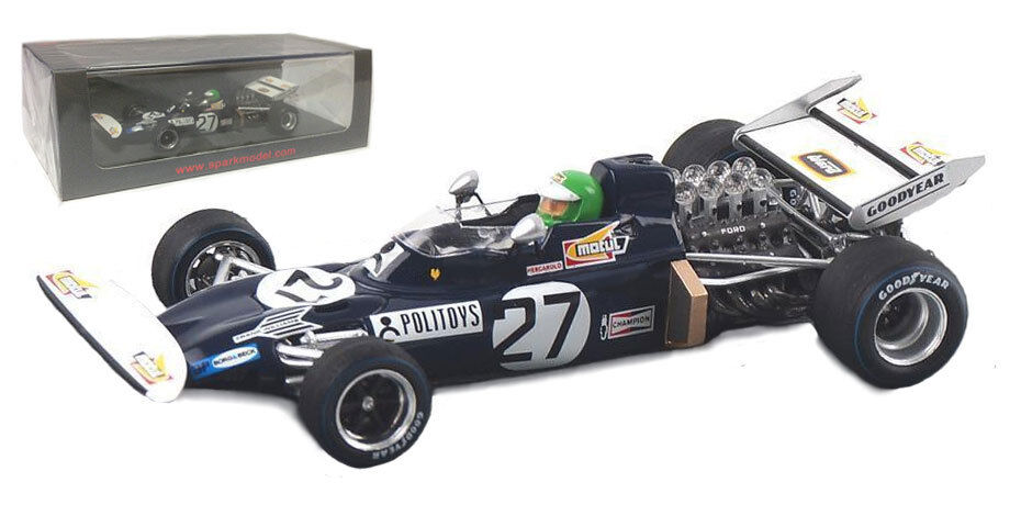 Spark S3376 march 711  frank williams racing  spanish gp 1971-pescarolo 1 43