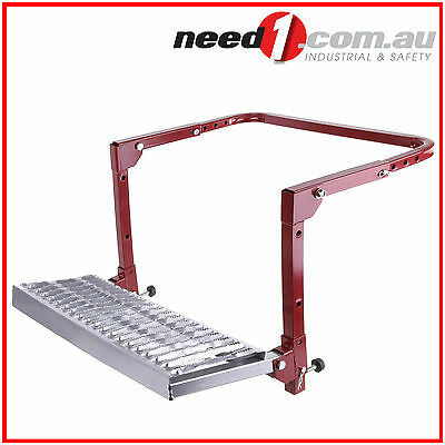 JMV WHEEL STEP 4WD TYRE STEP 4WD VAN TRUCK PORTABLE FOLDING LADDER HI REACH