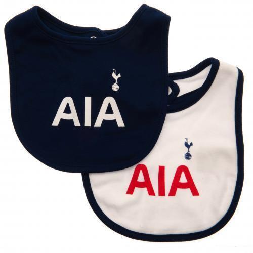 Tottenham Hotspur FC Spurs Oficial Fútbol Regalo 2 Paquete Kit Bebé Baberos