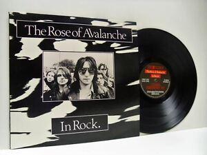 THE-ROSE-OF-AVALANCHE-in-rock-1st-uk-press-LP-EX-EX-FIRELP12-vinyl-album