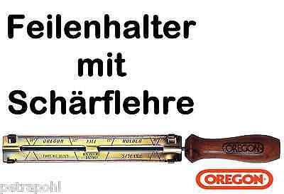 Feilenhalter Schärflehre Rund Feile 4,8 mm für 325/'/' Profi Sägeketten