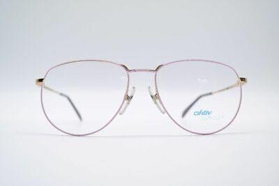 Vendita Economica Vintage R + H Aktic Collection 4069 56 [] 16 135 Rosa Oro Ovale Occhiali Nos-mostra Il Titolo Originale Forte Imballaggio