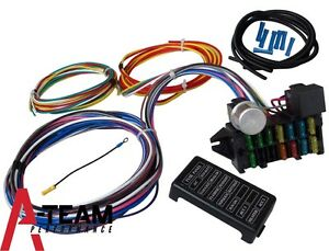 12 circuit universal wiring harness muscle car hot rod ... hot rod wiring diagram for wireless hot rod wire diagram pdf