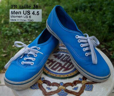vans bleu ciel femme