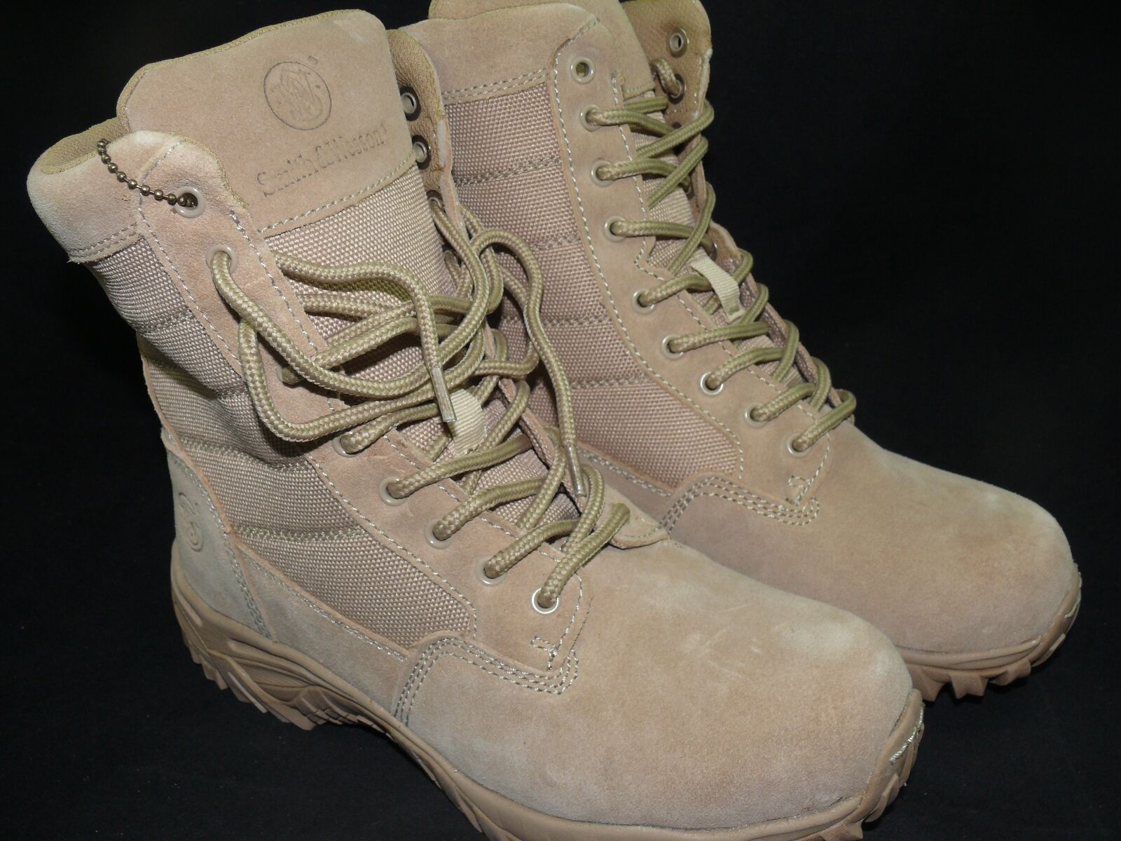 Smith Smith Smith & Wesson SW8T 8  Tactical Stiefel WP Police EMT Military Tan Leather 73d6c5
