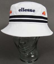 Ellesse Heritage 80s Bucket Hat in White - One Size Fits All / retro festival