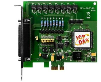Aspirante Icp Das Pex-p8por8i Cr Pci Board/express/digital/8di/8ro/photomos/isol