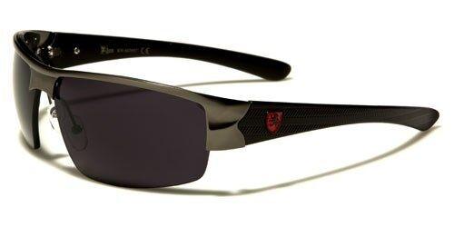 Khan Mens Designer Metal European Fashion Driving Riding Sunglasses KN3957